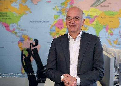 Projectleider Bouw voor 24/7 callcenter voor het Ministerie van Buitenlandse Zaken
