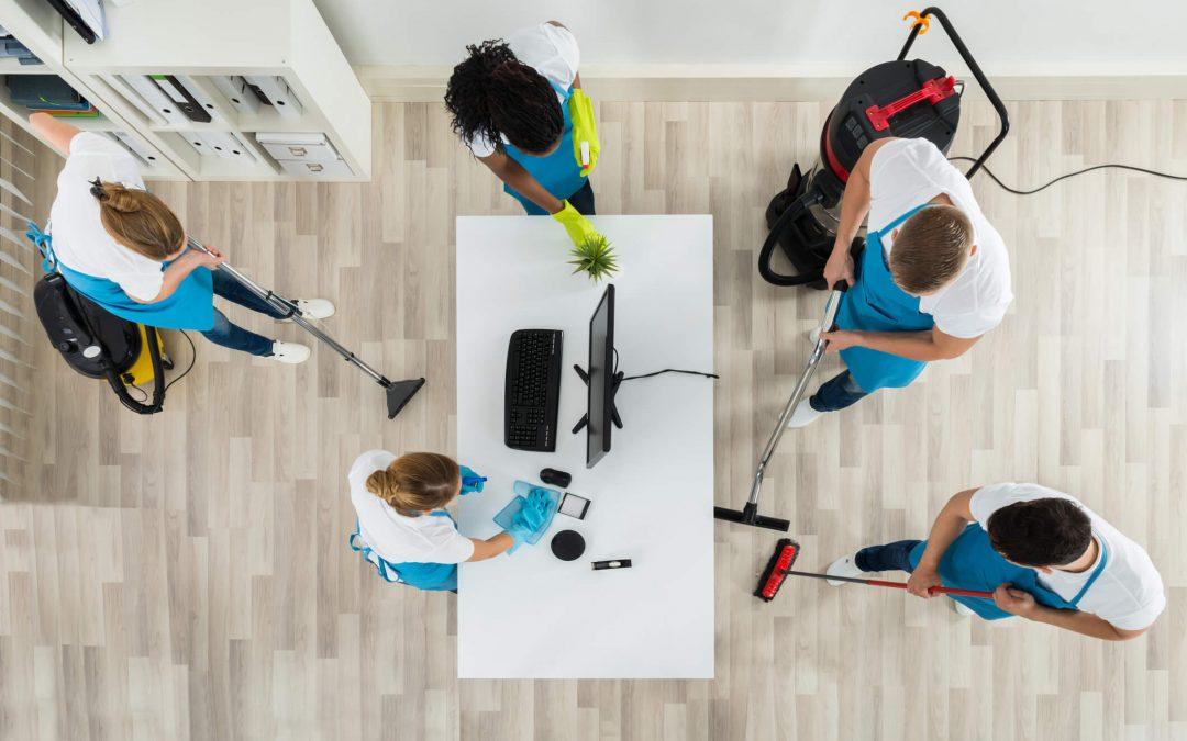 Herorganisatie van schoonmaak volgens Het Nieuwe Werken brengt beter resultaat