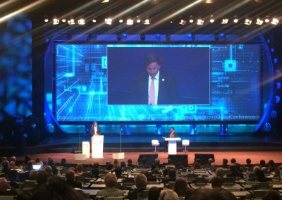 Projectleider Logistiek Global Conference on Cyberspace 2015